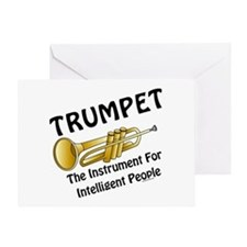 Trumpet Genius Greeting Card