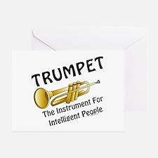 Trumpet Genius Greeting Card