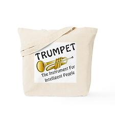 Trumpet Genius Tote Bag