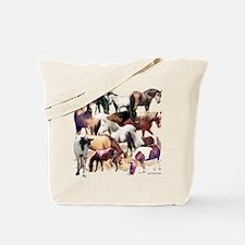 Ponies Tote Bag