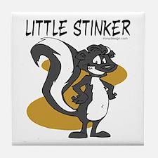 Little Stinker Tile Coaster