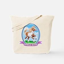 Ponies Rock Tote Bag