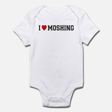 I Love Moshing Infant Bodysuit