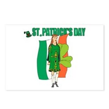 Irish Lass Postcards (Package of 8)