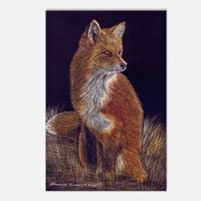 Red Fox Postcards (Package of 8)