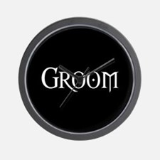 Groom - Gothic Morph Wall Clock