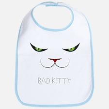 Bad Kitty Bib