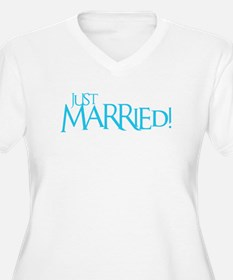 Just Married - Event Blue T-Shirt