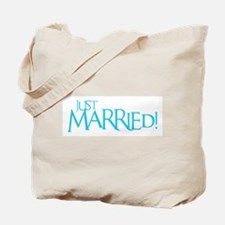 Just Married - Event Blue Tote Bag