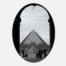 paris 3 Oval Ornament