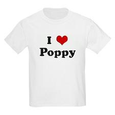 I Love Poppy T-Shirt