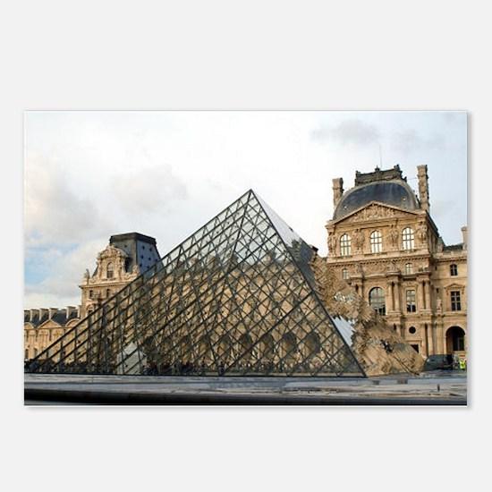 paris 4 Postcards (Package of 8)