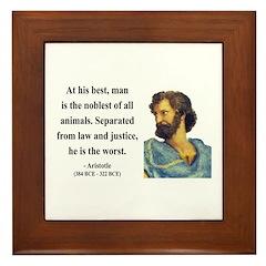 Aristotle 9 Framed Tile