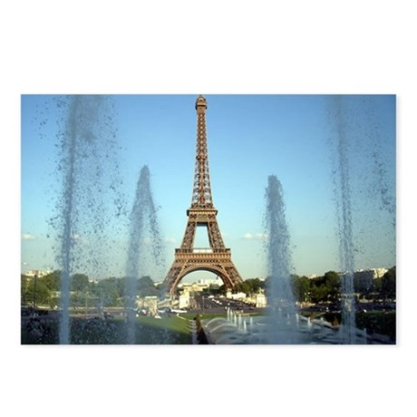 paris 5 Postcards (Package of 8)