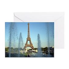 paris 5 Greeting Cards (Pk of 10)