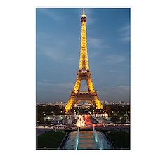 paris 9 Postcards (Package of 8)