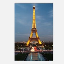 paris 9 Postcards (Package of 8)