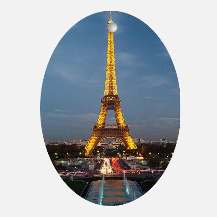 paris 9 Oval Ornament