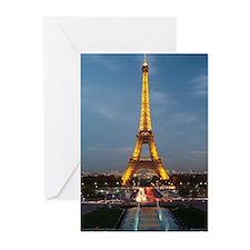 paris 9 Greeting Cards (Pk of 10)
