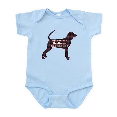 BFF Redbone Coonhound Infant Bodysuit