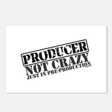 Not Crazy Just In Pre-Production Postcards (Packag