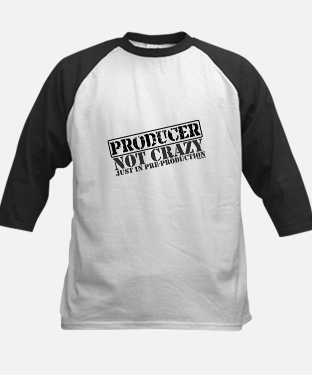 Not Crazy Just In Pre-Production Kids Baseball Jer