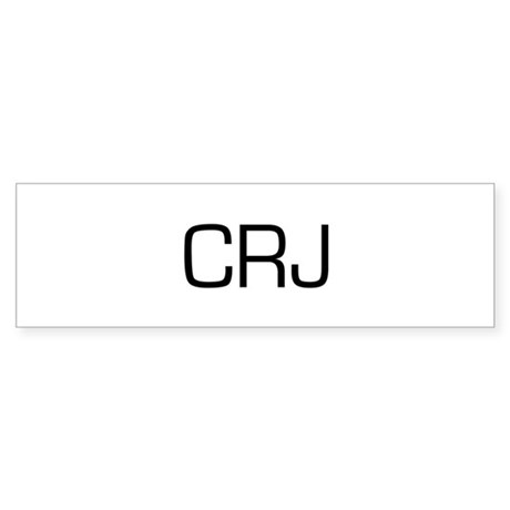 CRJ Bumper Sticker
