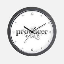 Urban Producer Wall Clock
