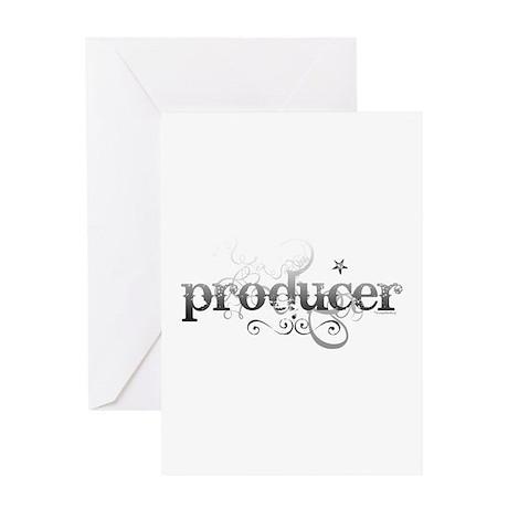 Urban Producer Greeting Card