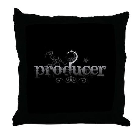 Urban Producer Throw Pillow