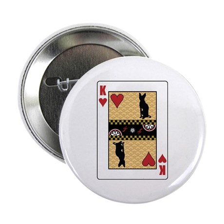 """King Sphynx 2.25"""" Button (100 pack)"""