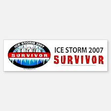 Ice Storm 2007 Survivor Bumper Bumper Bumper Sticker