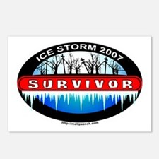 Ice Storm 2007 Survivor Postcards (Package of 8)