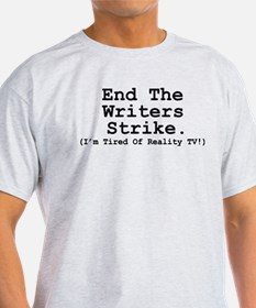 End The Writers Strike (I'm Tired Of Reality TV!)