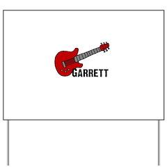Guitar - Garrett Yard Sign