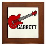 Guitar - Garrett Framed Tile