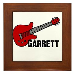 Guitar - Garrett Framed Tile