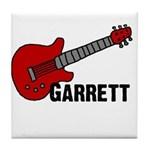 Guitar - Garrett Tile Coaster