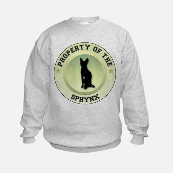 Sphynx Property Sweatshirt
