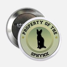 "Sphynx Property 2.25"" Button"