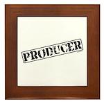 Producer Stamp Framed Tile