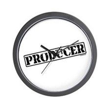 Producer Stamp Wall Clock