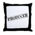 Producer Stamp Throw Pillow