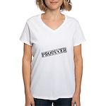 Producer Stamp Women's V-Neck T-Shirt