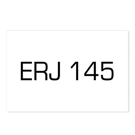 ERJ 145 Postcards (Package of 8)