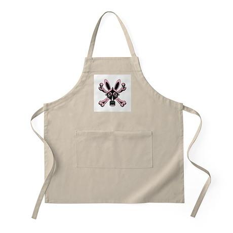 Rabbit Gas Mask BBQ Apron