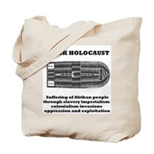 Black Holocaust Tote Bag
