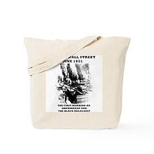 Black Wall Street Tote Bag