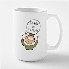 Autistic & Amazing Large Mug