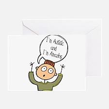 Autistic & Amazing Greeting Card
